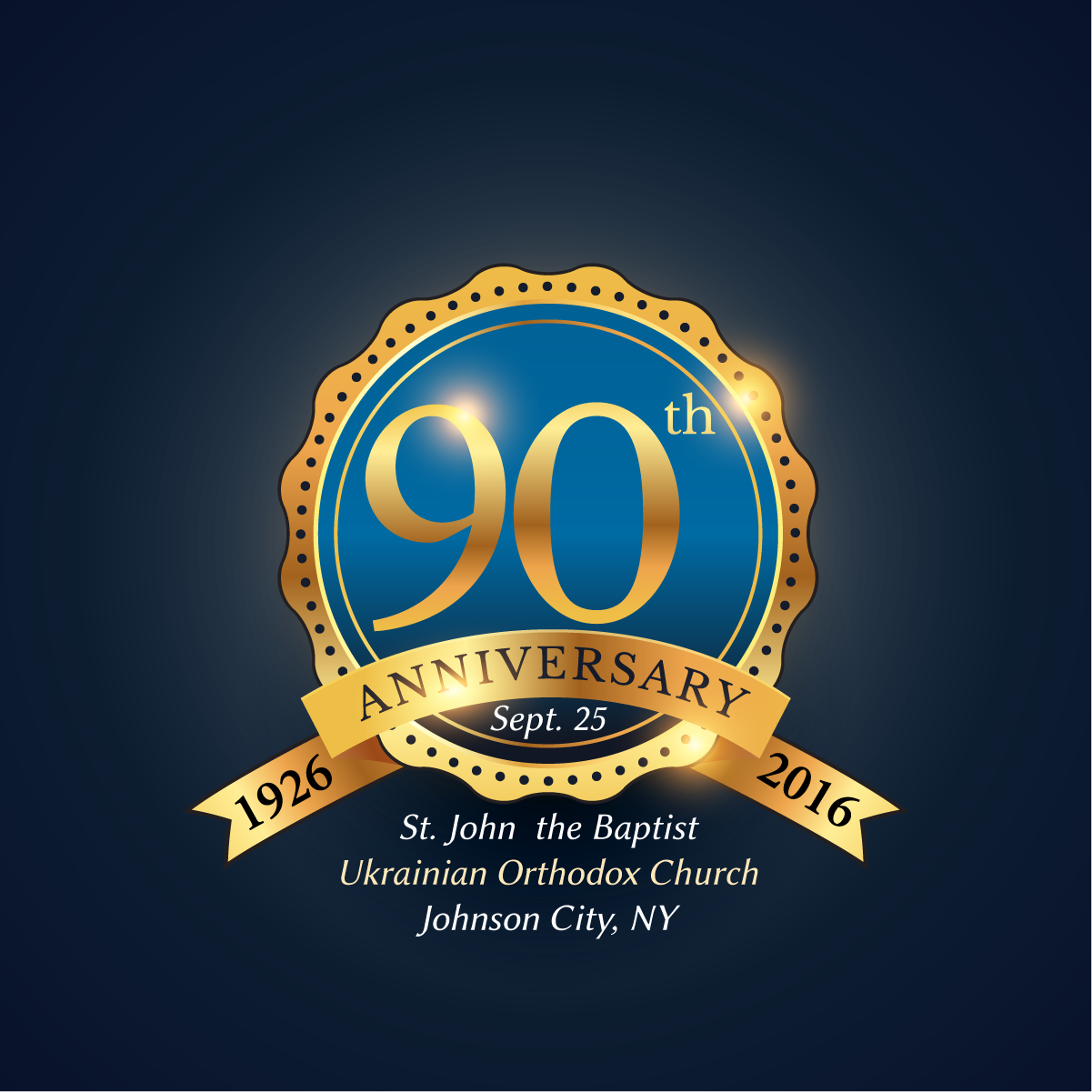 90th Anniversary - Sept. 25